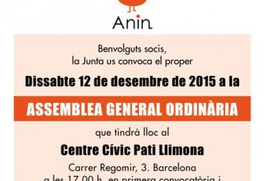 assemblea general ordinària 2015